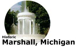 Historic Fountain, Marshall Michigan